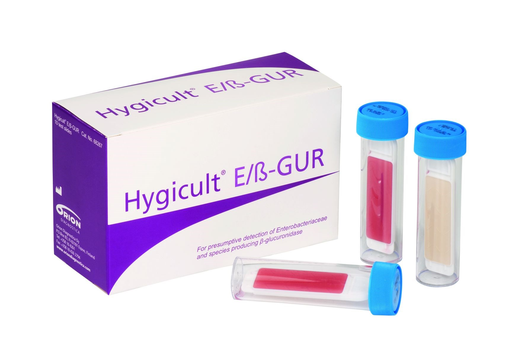 Hygicult E/β-GUR for Enterobacteriaceae/E.coli
